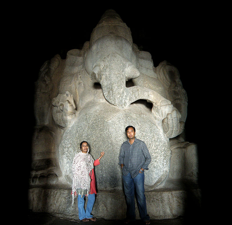 Kadlekalu Ganesha in Hampi