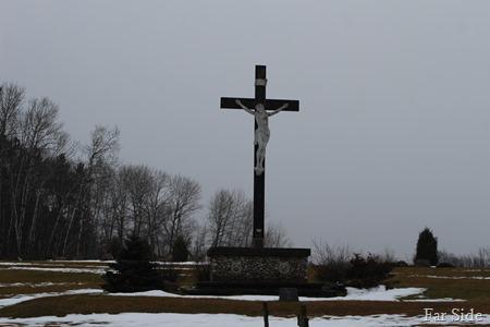 St Marys Jesus on the Cross