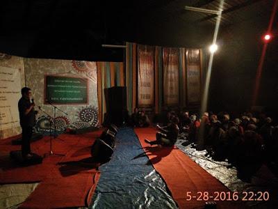 Malam Apresiasi Sastra Budaya dalam Menyongsong Peringatan Zelfbestuur 1916 di Rumah Baca HOS Tjokroaminoto Tarumajaya Bekasi