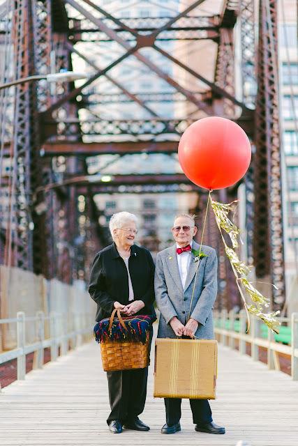 #相伴走過一甲子歲月:可愛老夫妻以『天外奇蹟』為靈感拍攝周年紀念照 2