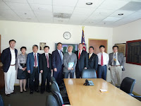 Power Breakfast with Visiting Chinese Delegation from City of Qingdao