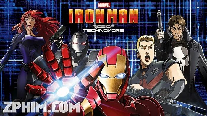 Ảnh trong phim Người Sắt: Sự Nổi Giận Của Technovore - Iron Man: Rise of Technovore 1