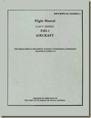 NAVWEPS 01-245FDA-1 - F4H-1 Flight Manual 1 MAY 1961_01