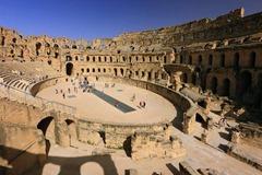 El Jem Amphitheater Interior