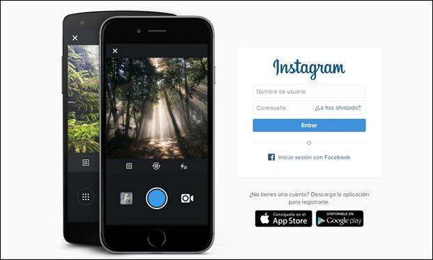 Abrir Instagram desde la computadora