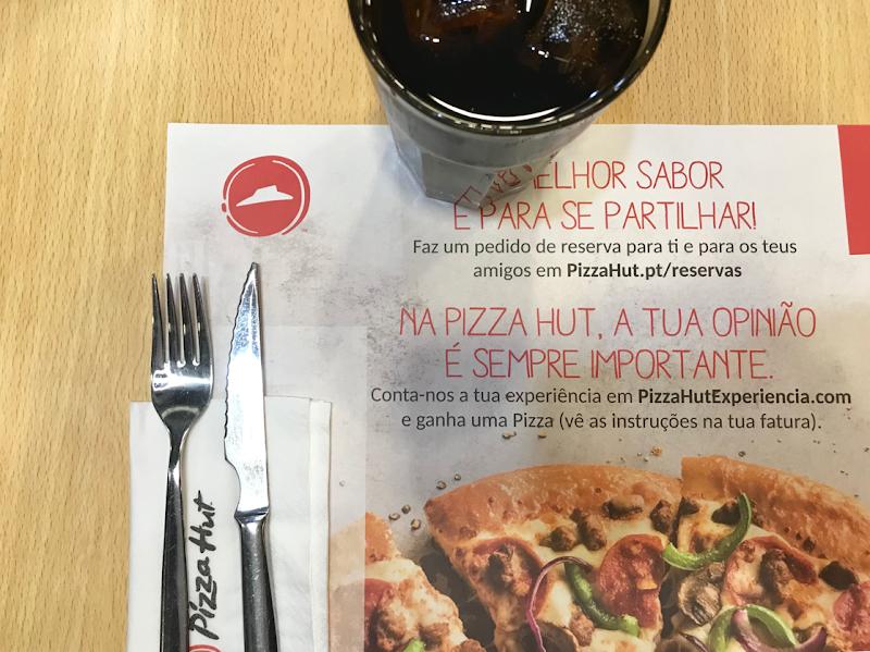 Fomos jantar a PizzaHut!