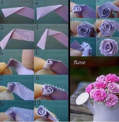 ... how to make paper flower craft screenshot 11 ... 1c0910aa6d