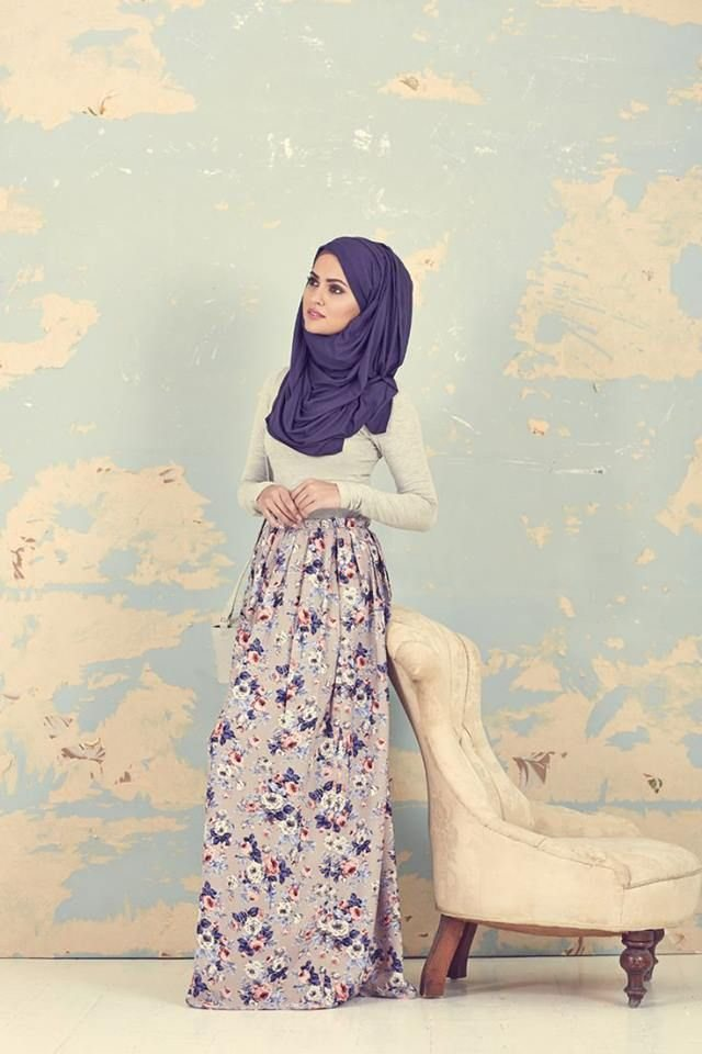 Latest Spring Hijab Style Ideas 2016 2017 Styles 7