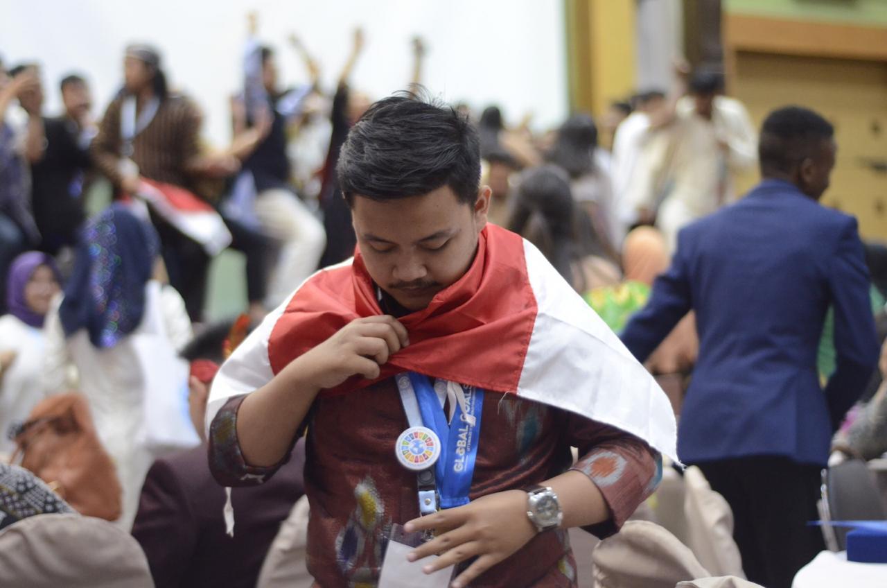 Wiranto Putra Asal Gowa Delegasi Indonesia Raih Terbaik Pertama Ajang International Kategori Social Campaign SDG's