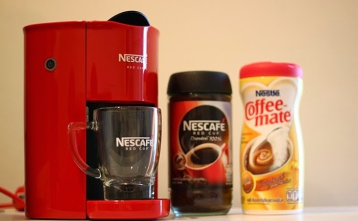 Nescafe Coffee Maker Reviews : NEW!! Red Cup Nescafe Coffee Maker C (end 4/19/2015 3:15 PM)
