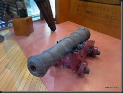 180503 014 James Cook Museum Cooktown Endeavours Cannon