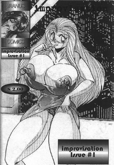 """""""Uranus Comics"""" – Improvisation Issue #1"""
