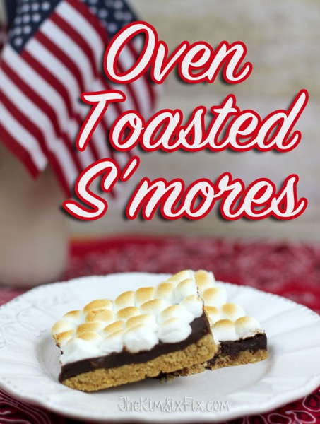 Oven Toasted S'mores Bars