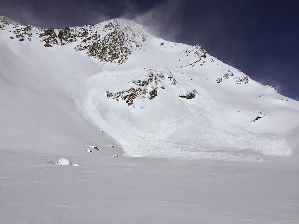 Avalanche Vanoise, secteur Dôme de Polset - Photo 1