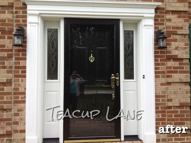 Teacup Lane New Pella Door Amp Sidelights