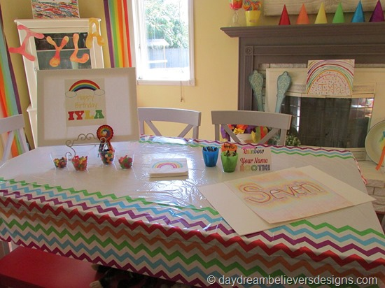 DIY Art Party at Home - Art Stations