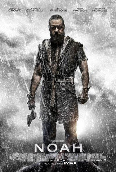 Poster Of Noah (2014) Full Movie Hindi Dubbed Free Download Watch Online At Alldownloads4u.Com
