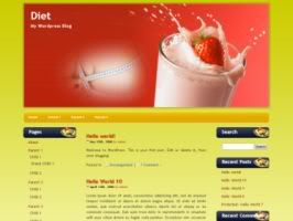 Diet WP theme