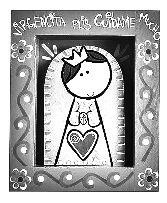 Dibujos cat licos virgencita plis distroller para colorear for Bo on the go coloring page