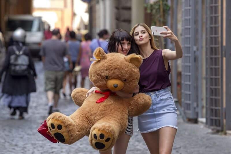 Benedetta Porcaroli e Alice Pagani