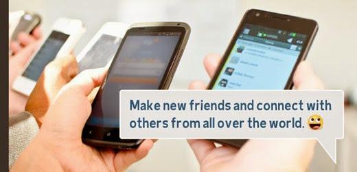 aplikasi free chat semakin populer