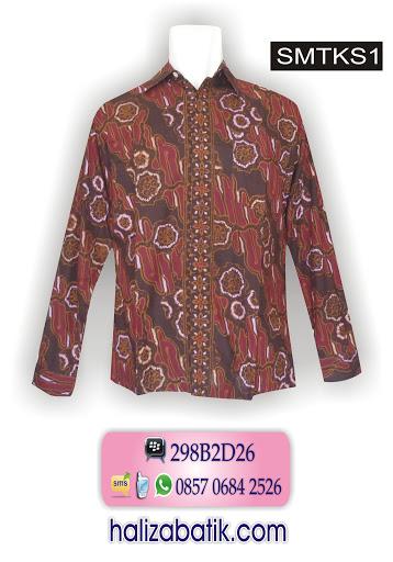 contoh model baju batik, baju batik pria, model batik modern