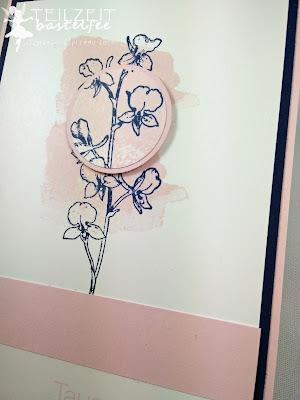 Stampin' Up! - In{k}spire_me #201, Color Challenge, Happy Watercolor, Flowers, Blumen, Birthday, Geburtstag, Tausend Dank, Lots of Thanks