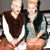 OIC - ENTSIMAGES.COM - Lewis-Duncan Weedon and Katie Coleman at the LFW a/w 2016: Niro Wang - catwalk show in London February 22nd 2016 Photo Mobis Photos/OIC 0203 174 1069