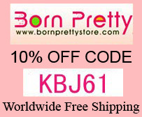 KBJ61 for 10% off sitewide at BornPrettyStore