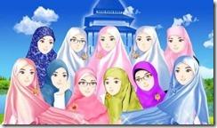 Muslimah-Cantik-Kartun