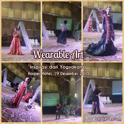pagelaran seni busana inspirasi dari Yogyakarta