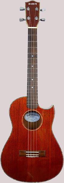Bushman eastmansong Jenny cutaway Baritone ukulele