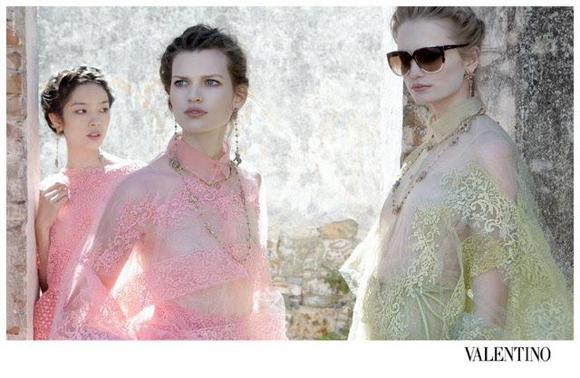 VALENTINO eyewear Spring summer 2012 campaign