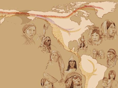 Native Americans streamed into New World in three waves of migration