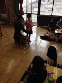 足立区の子供会でマジックショー マジシャンえいち