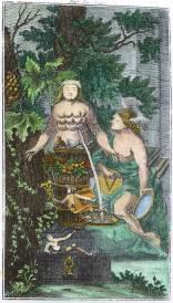 From Anonymus Von Schwartzfuss Das Blut Der Natur 1767, Alchemical And Hermetic Emblems 2