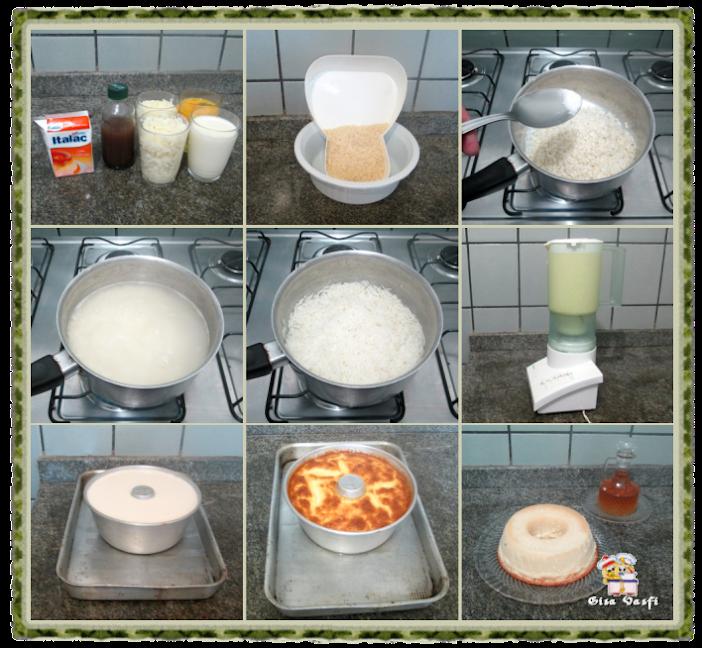 Pudim de arroz 3