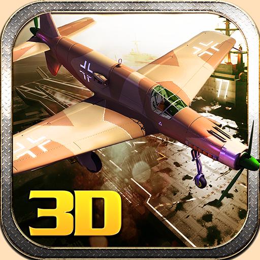 二戰太平洋戰鬥機攻擊3D 動作 LOGO-玩APPs