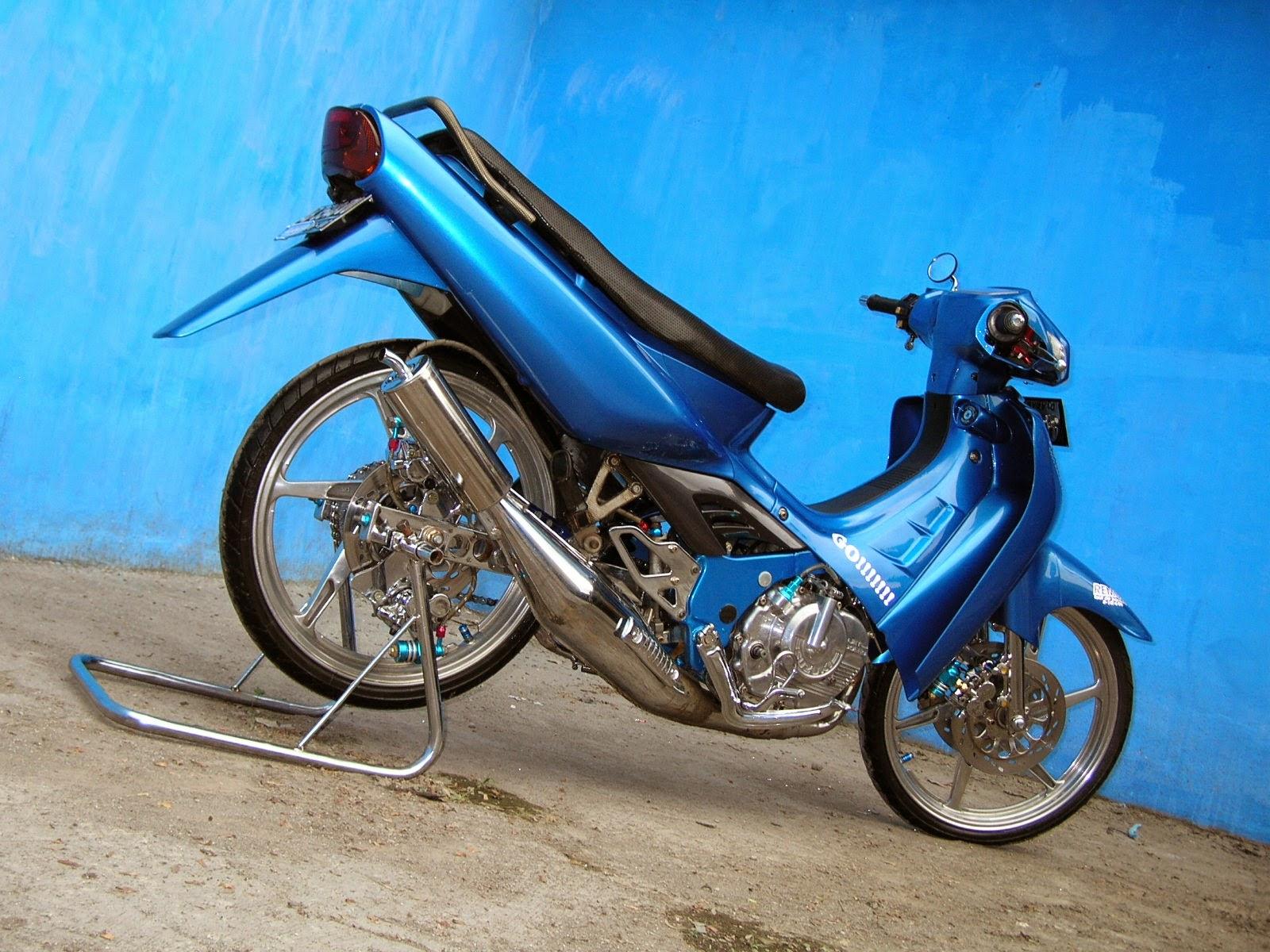 Suzuki Titan Full Modifikasi