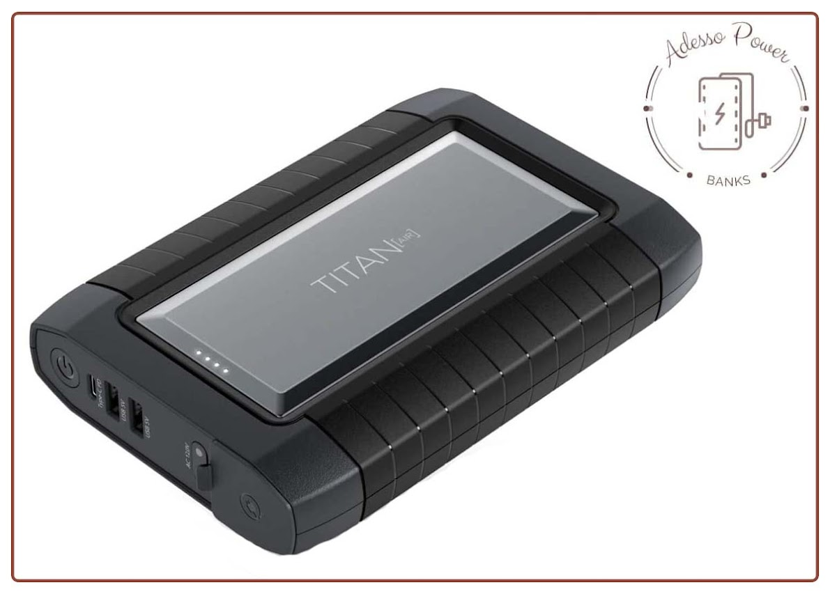 Raptic Titan Air 91Wh/26,800mAh with AC Outlet USB-C USB-A