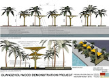 "Guangzhou Wood Demonstration Project, ""Floating Triangles"" Lindsay Gowler"