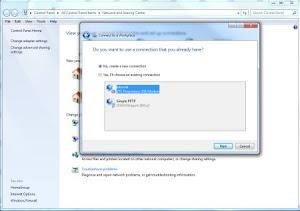 Screenshot 3 - Membuat Koneksi VPN PPTP di Windows