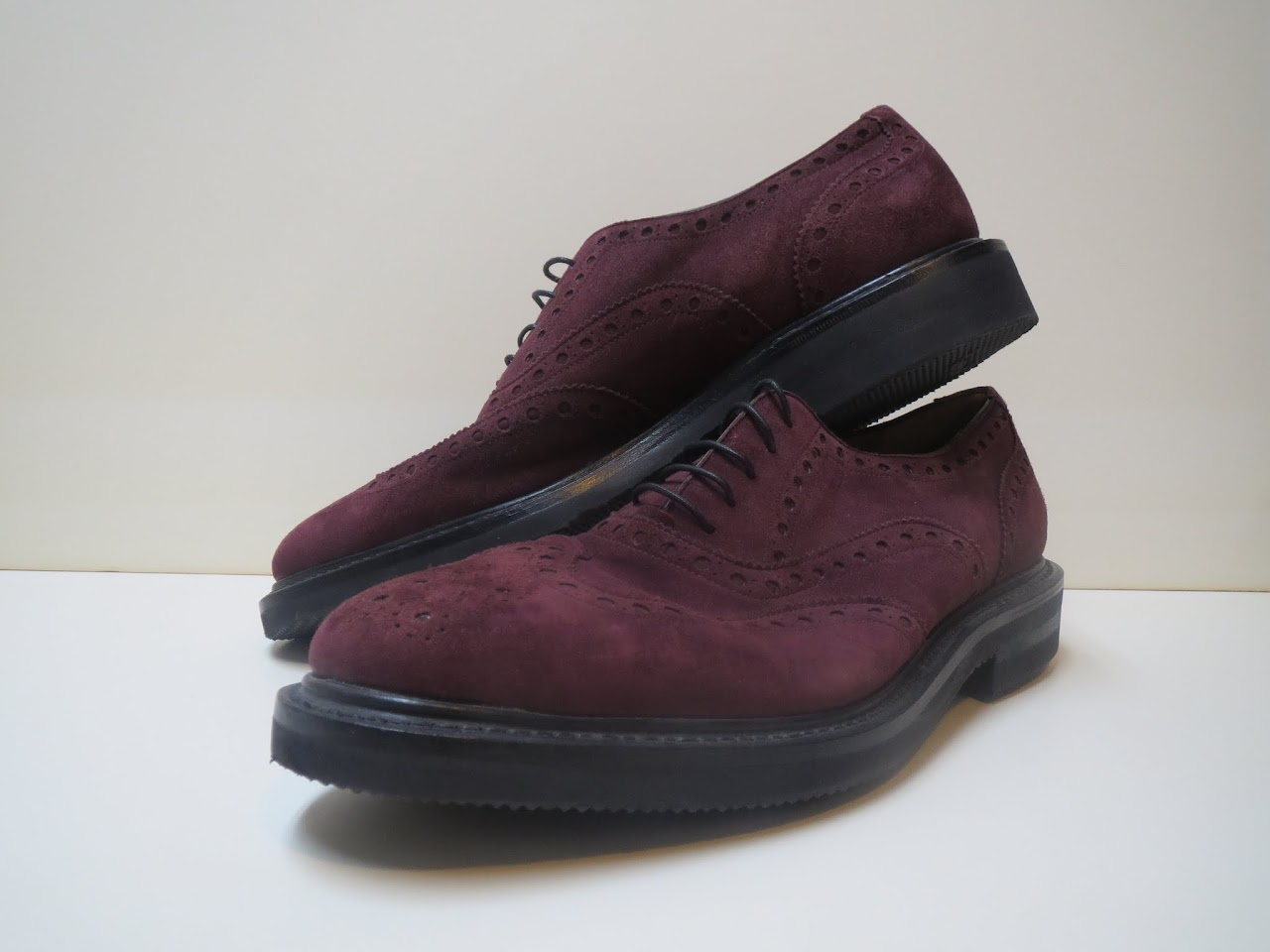 Salvatore Ferragamo Brogue Lace Ups