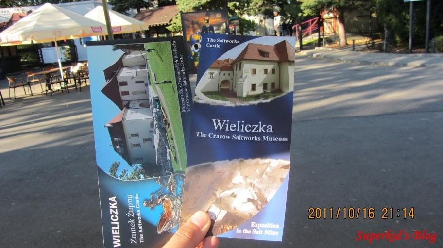 Wieliczka鹽礦門票在手,希望無窮! XD