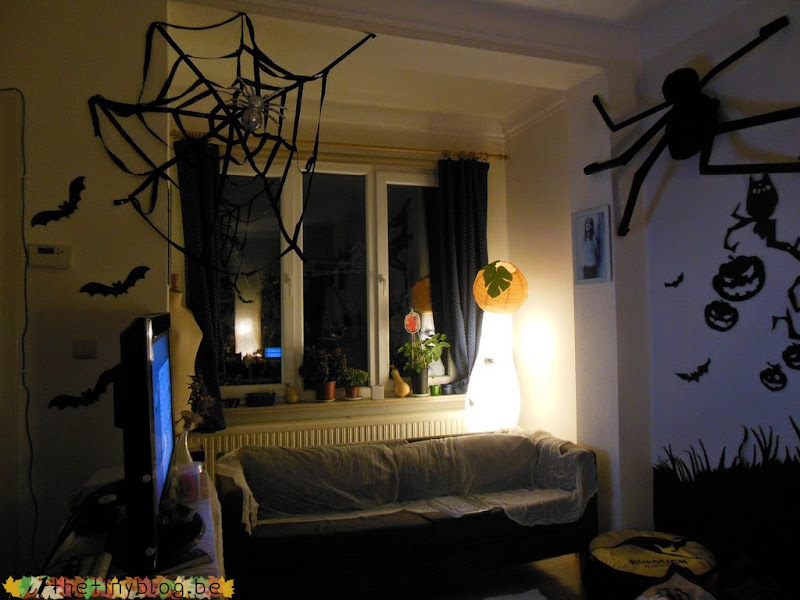 Halloween Party Apartment Decoration