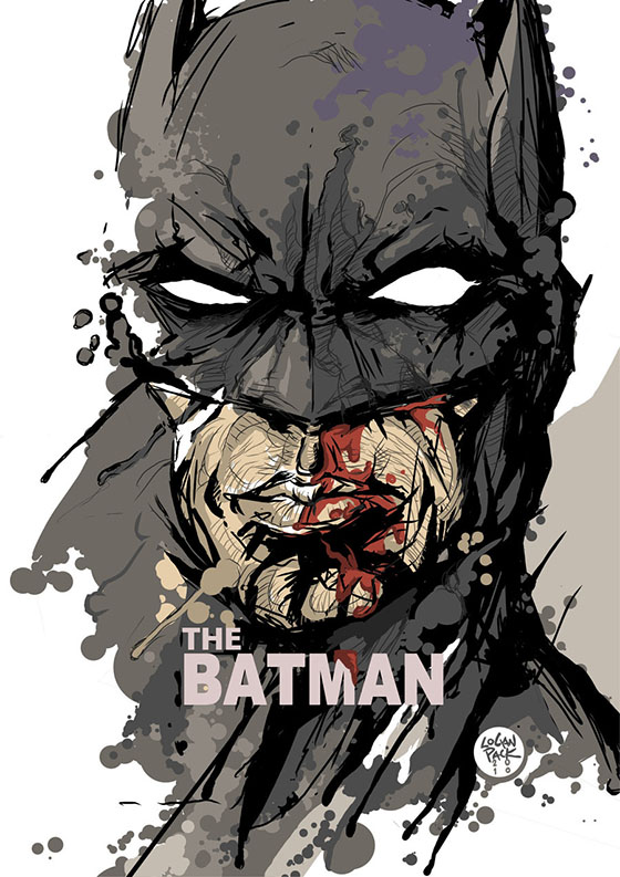 The Batman, de cheschirecatart.com