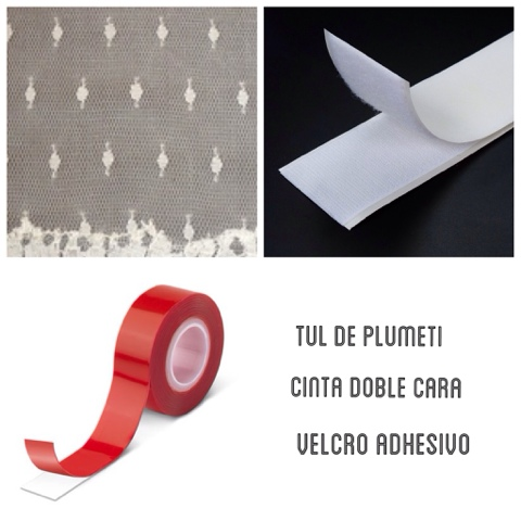 Mosquiteras de plumeti la c moda encantada for Velcro para mosquitera