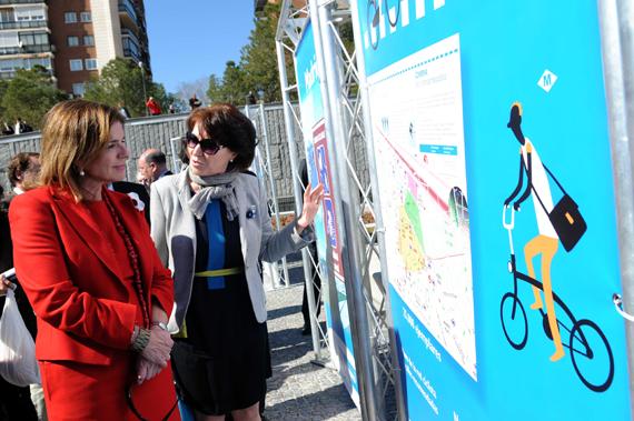 Madrid en bici, cada día más fácil