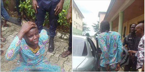 Young Man Arrested And Handcuffed For Stealing Phone During Church Service (Photos)