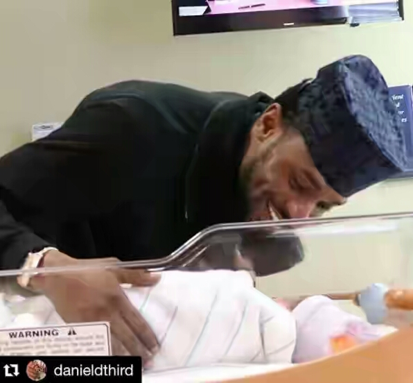 #ChildrensDay: D'banj Smiles As He Strikes A Pose With His Newborn Son (Photo)